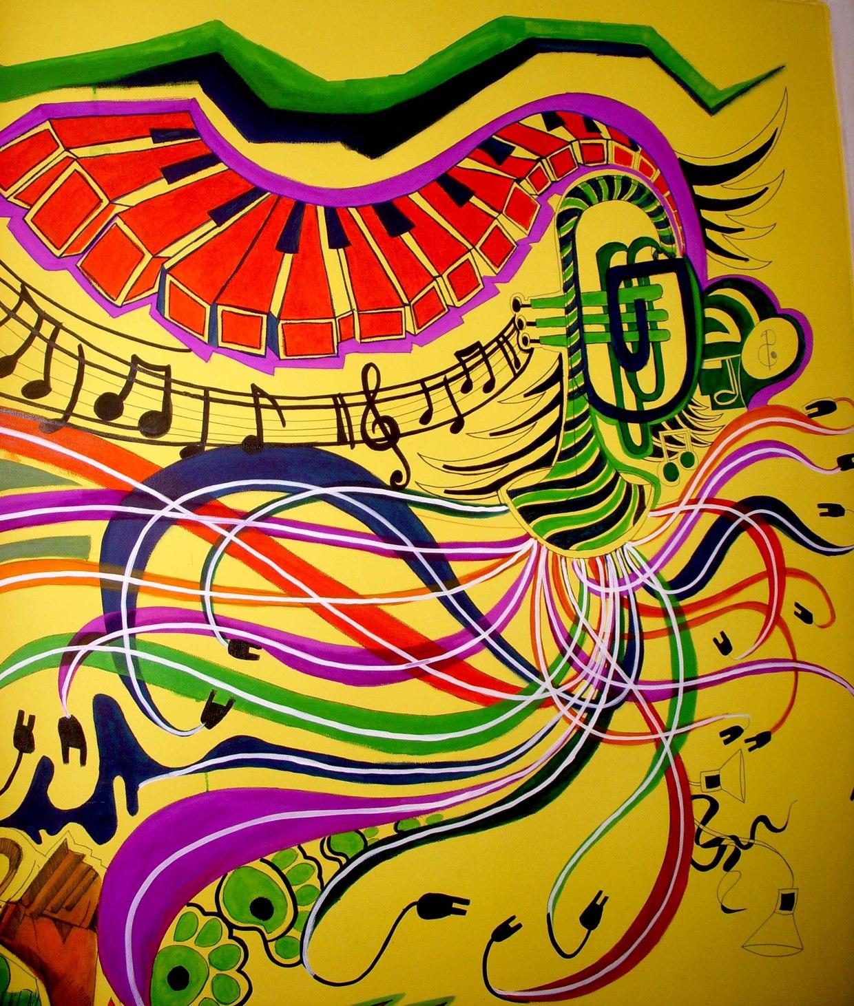 Wall Graffiti Music Club – Pune – Shraddha Trivedi