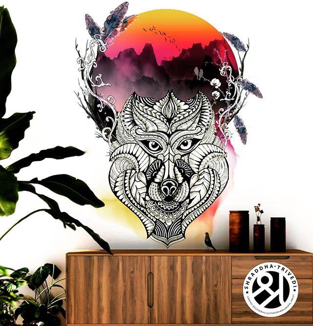 Dire Wolf Wallpaper Shraddha Trivedi